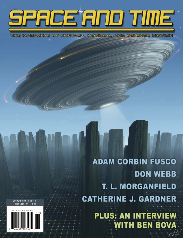 Space and Time Magazine Cover