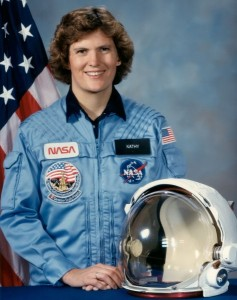 Kathryn D. Sullivan First American woman to walk in space