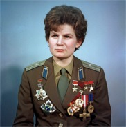 Valentina Tereshkova, First Woman in Space