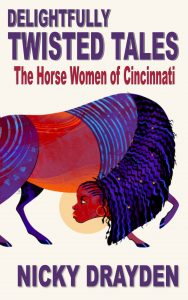 Horse Woman with Purple Mane
